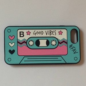 💕Heyday - iPhone Plus Case 'Good Vibes Cassette'